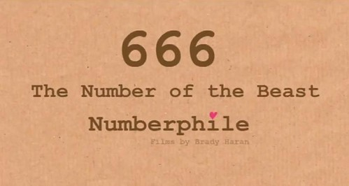 666 [video] | GrrlScientist | Science | The Guardian
