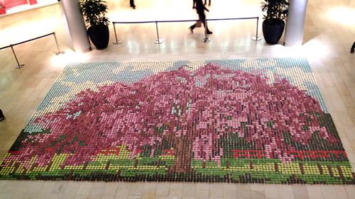 10,000 cupcake mosaic