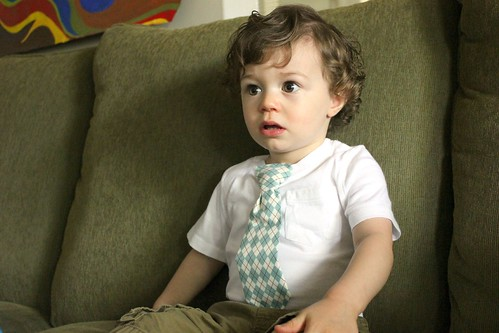 customized toddler tie