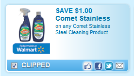 Comet Stainless Steel Coupon