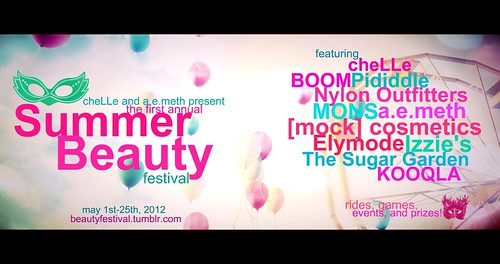 Chelle and a.e.meth Present: Summer Beauty Festival