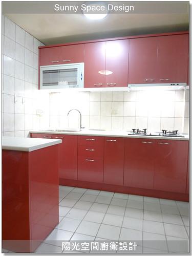 廚房設計-萬華民和街陳小姐廚具-陽光空間廚衛設計2