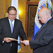 New Representative from Guatemala Presents Credentials