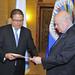 New Representative from Guatemala Presents Credentials