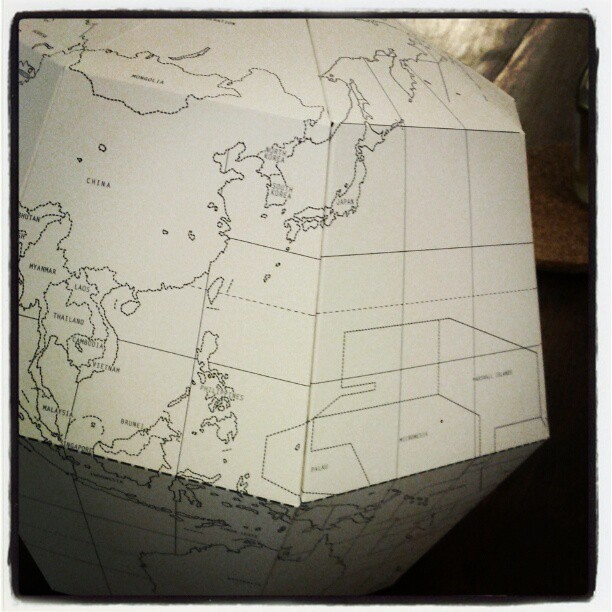Just folded a world.