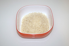 05 - Zutat Basmati-Reis / Ingredient basmati rice