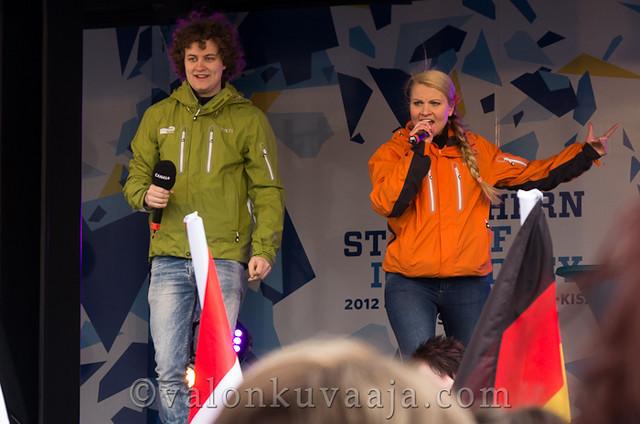 Tea Hiilloste ja Pekka Laukkarinen