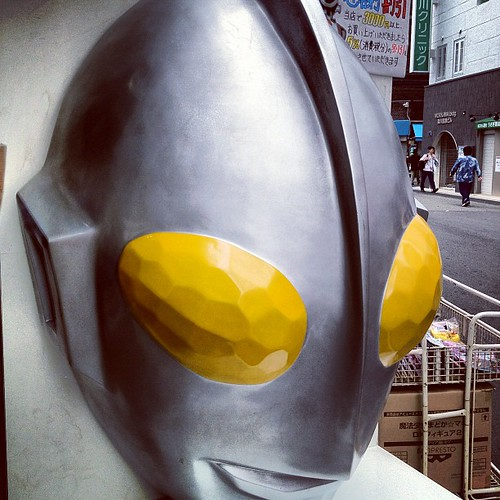 大阪。スケールが違う。ウルトラマン