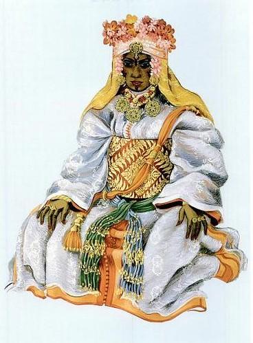 Costume d'apparat du Makhzen