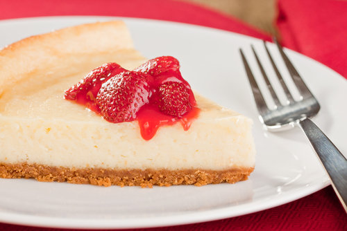 Easy cheesecake