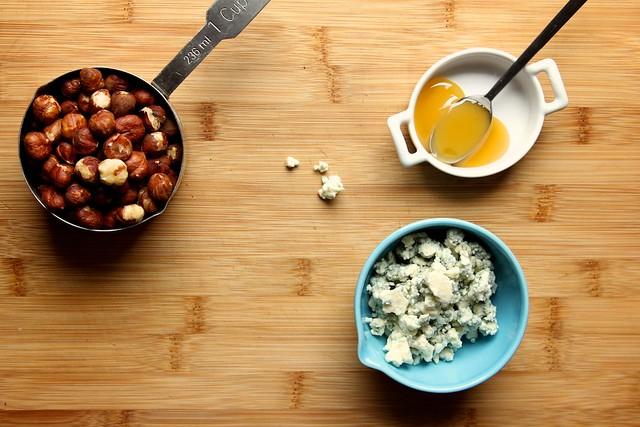Blue Cheese, Hazelnut, and Honey Polenta | Joy the Baker