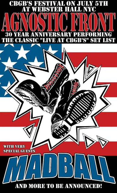 07/05/12 Agnostic Front/Madball @ Webster Hall, NYC, NY