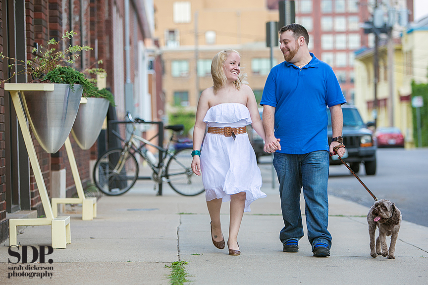 Crossroads Art District Kansas City engagement session