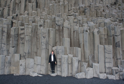 Hexagonal Basalt Columns at Vík