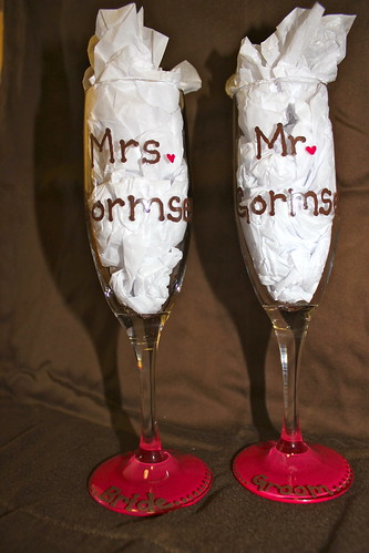 First Toast Champagne Glasses