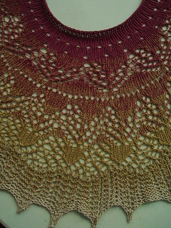 008 Sunburst Shawl