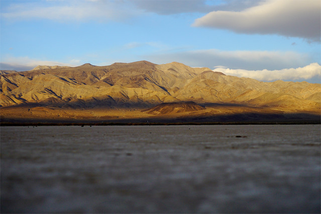 panamint valley sunrise