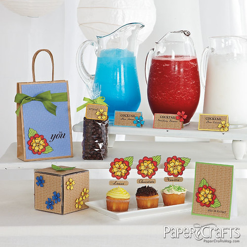 7218442490 d7fa85d70d Paper craft your next summer party!