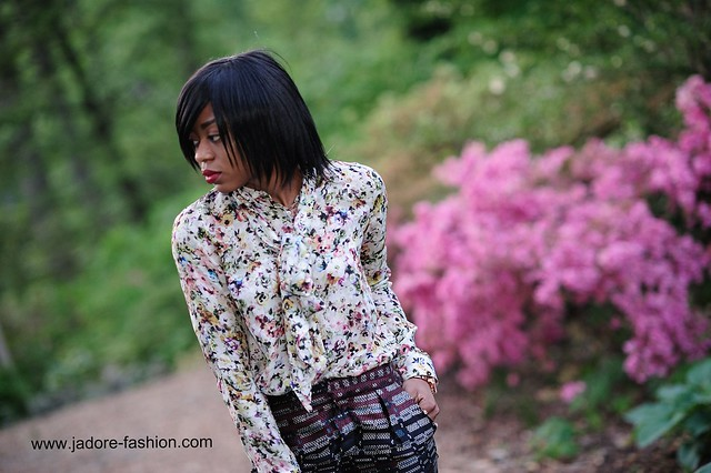 Zara floral & prints by jadore-fashion.com