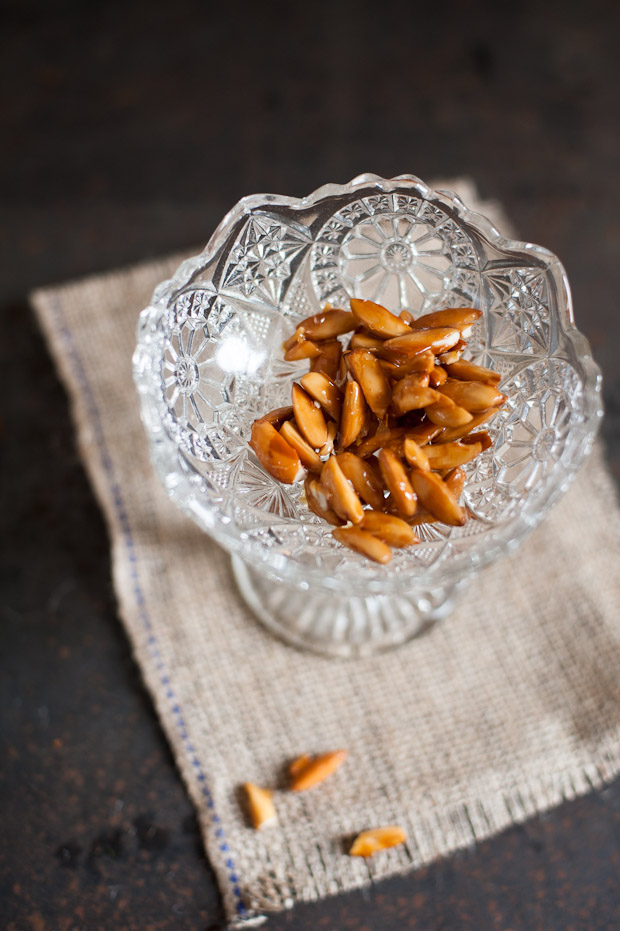 Caramelised Almonds