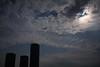 雲間の日食