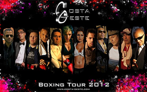 Orquesta Costa Oeste 2012 - cartel