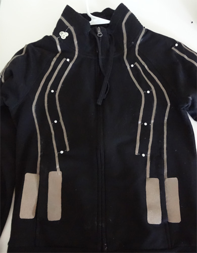 Conductive Traces LEDJacket