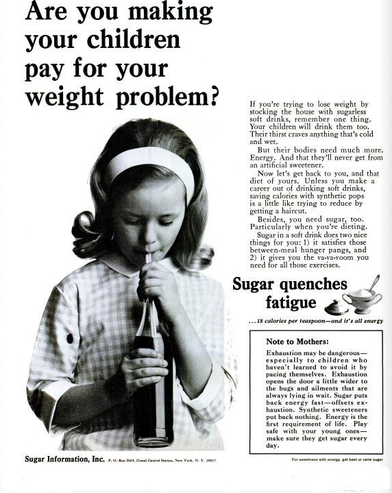 sugar quenches fatigue