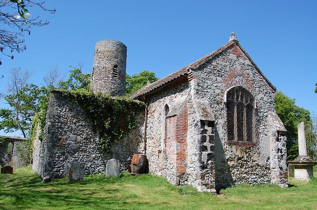 Great Hautbois Church Norfolk Flickr Photo Sharing
