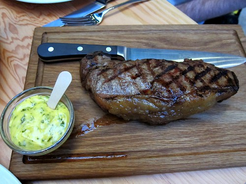 500g Mighty-marbled Glenarm Sirloin steak