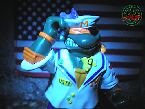 Mutant Military  TEENAGE MUTANT NINJA TURTLES ::  MIDSHIPMAN MIKE i (( 1991 ))