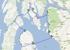 five ferries route
