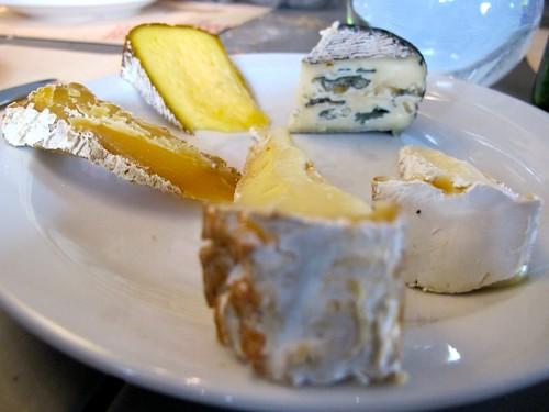 Cheese plate, Terroir Parisien
