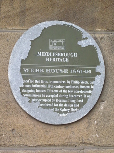 Bell Brothers, Webb House Middlesbrough