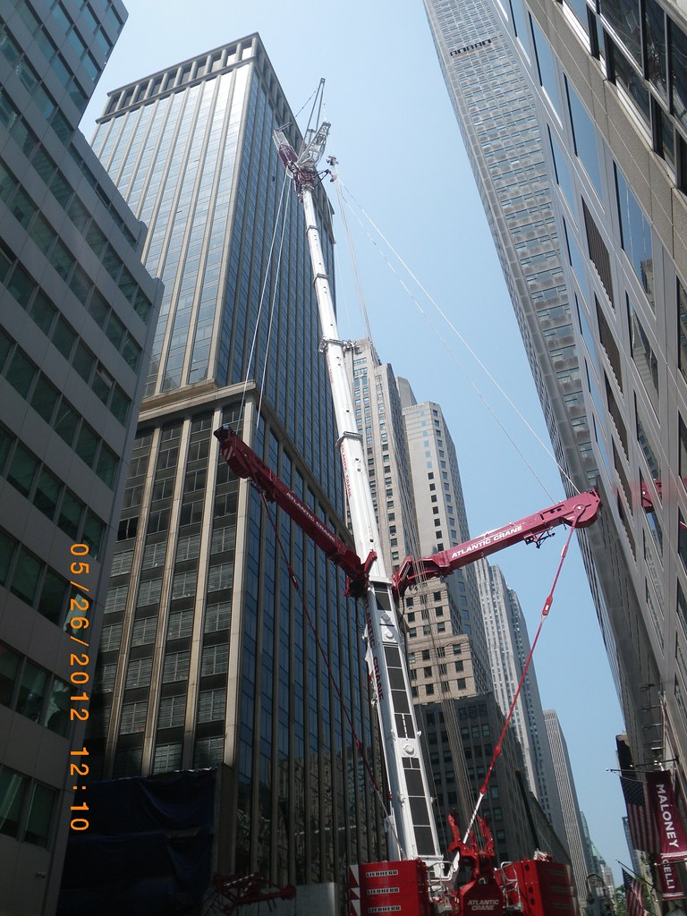 Vinny Schianos Favorite Flickr Photos Picssr Chase Wiring Instructions Cm013 Crane Set Up On 50th St For Utility Installation 05
