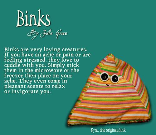 Binks by Julia Grace - Slide 1