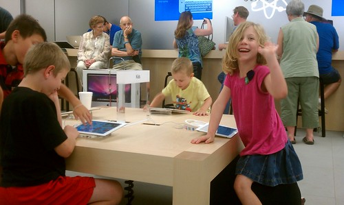 At the Apple Store by jbellis