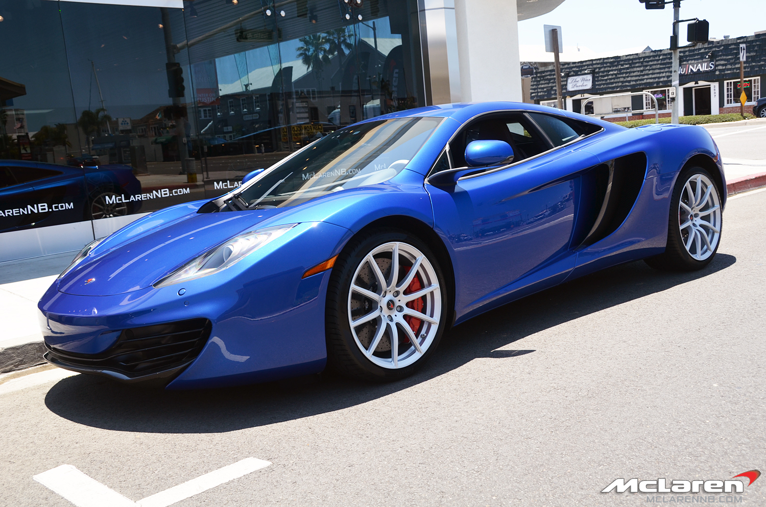 azure blue mclaren mp4 12c mclarennb mclaren life. Black Bedroom Furniture Sets. Home Design Ideas