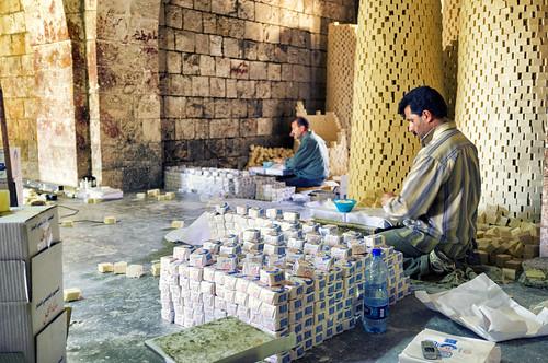 city soap factory palestine westbank nablus territories palestinian vestbredden