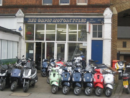 Reg Orpin Motorcycles, W12