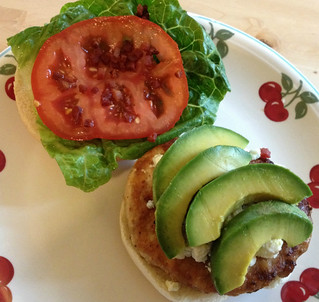 Cobb Salad Turkey Burger