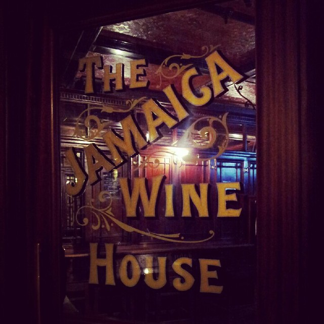 At The Jamaica Wine House - Shepherd Neame