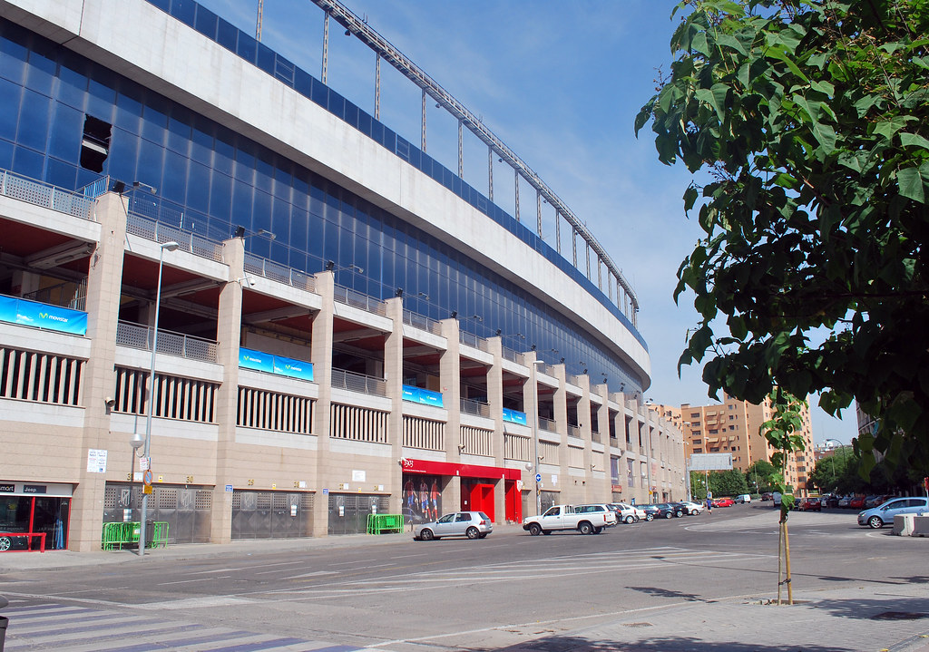 Estadio Vicente Calderon, Athletico Madrid, Madrid, Spain