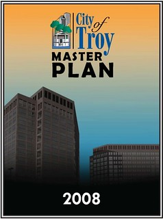 city of Troy MI master plan cover (by: Wayne Senville, Planning Commissioners Journal, www.plannersweb.com, creative commons)