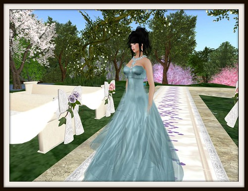 PM Ra Gown in Light Blue - PM Models & Bloggers Exclusive by Cherokeeh Asteria