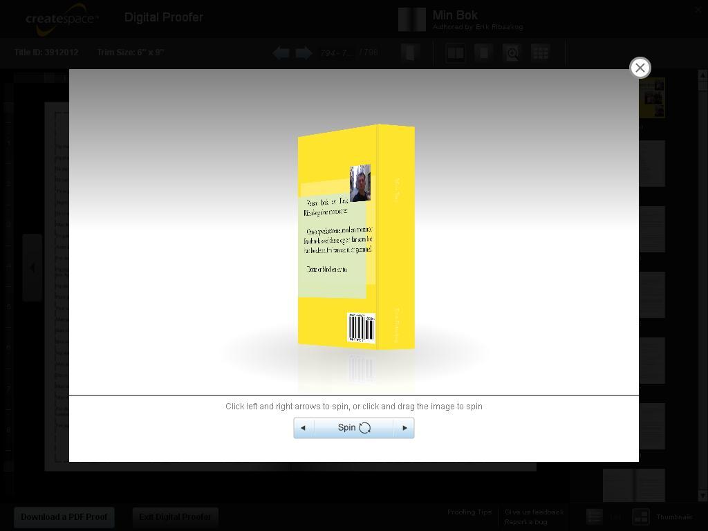 min bok godkjent 4