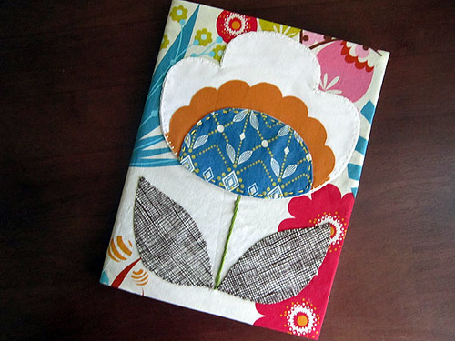 Poppy journal cover