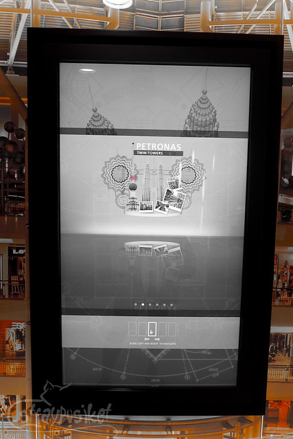 Petronas Interactive Screen