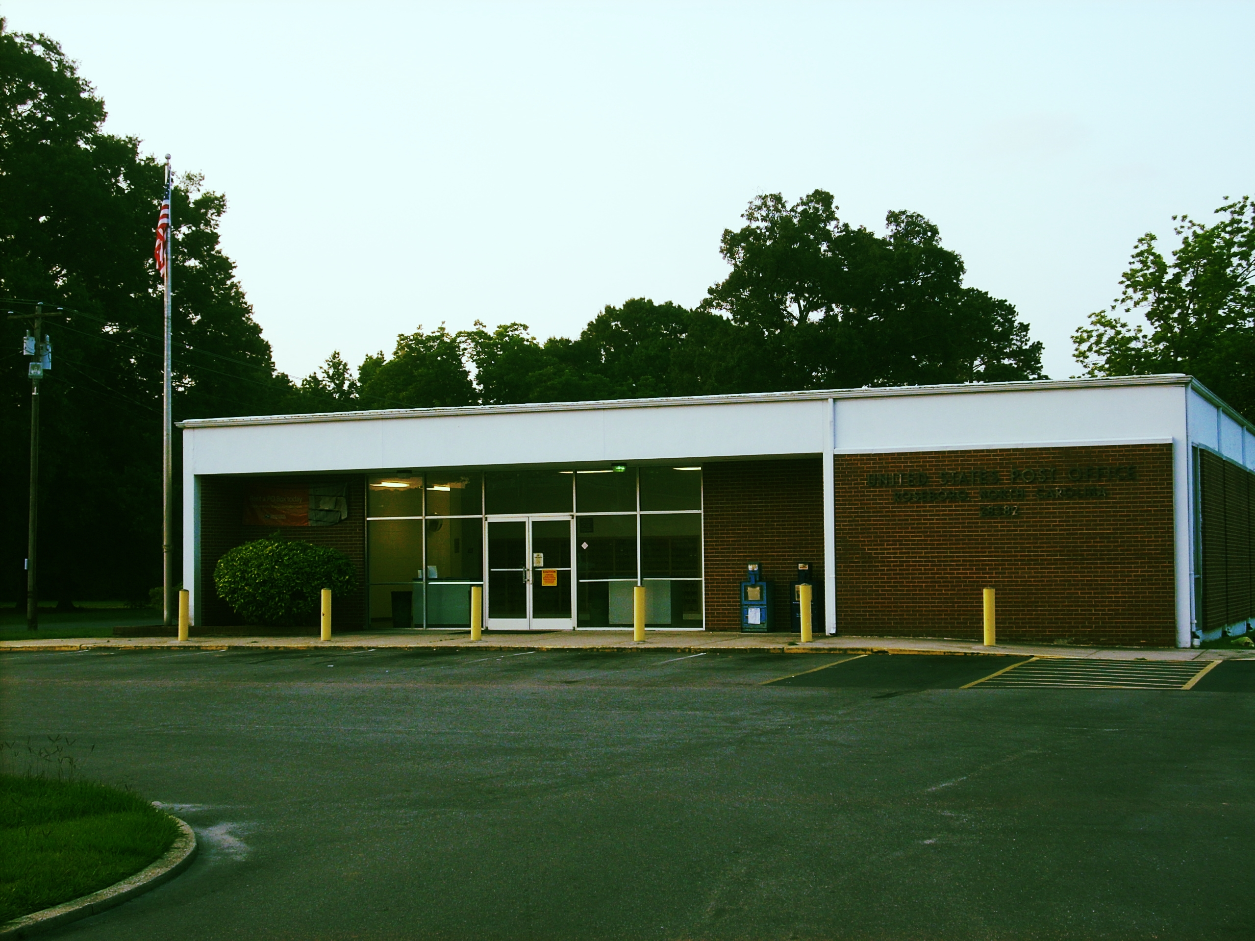 Roseboro Post Office | Flickr - Photo Sharing!roseboro town
