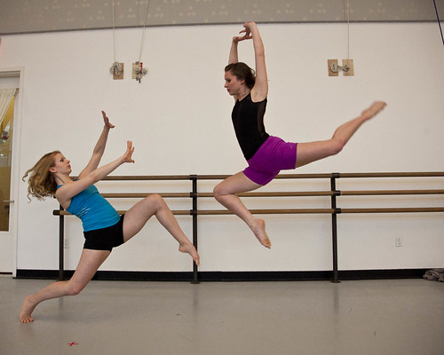 Parsons Dance Master Choreography Workshop Photo Shoot 2012